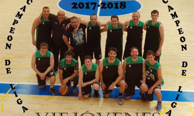 VIEJÓVENES CAMPEON DE LIGA 2017-2018