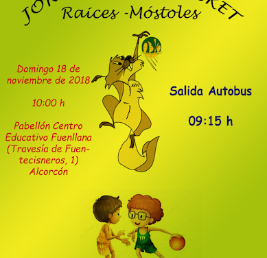 Jornadas Baby Basket Raíces-Móstoles
